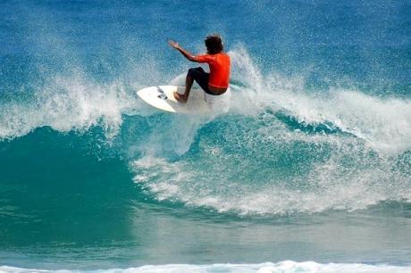 República Dominicana para la práctica del surfing