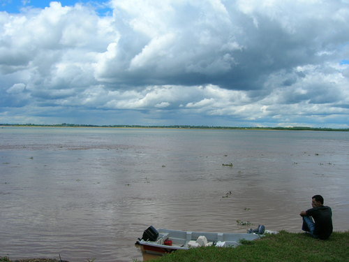 Isla del Cerrito en Argentina
