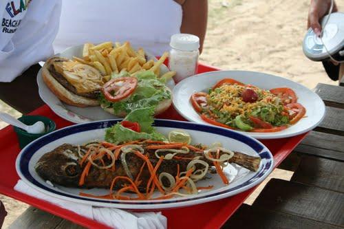 Gastronomía de las playas de Jamaica Playas del mundo