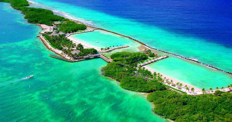 Playas de Renaissance Island Playas del mundo