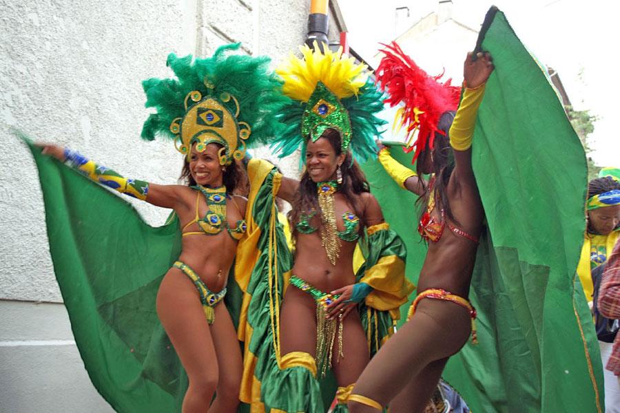 Samba, la danza brasileña por excelencia Playas del mundo
