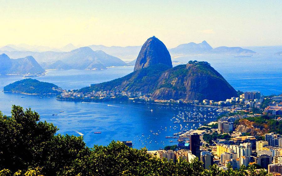 Pão de Açúcar, uno de los principales puntos turísticos de Río de Janeiro