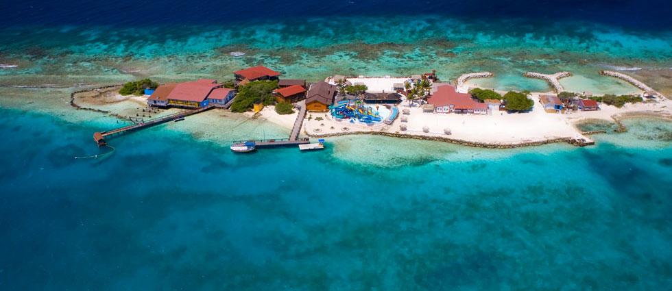 Playas de Isla de Aruba Playas del mundo