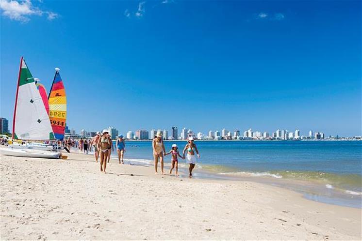 Atracciones al viajar a Punta del Este Playas del mundo