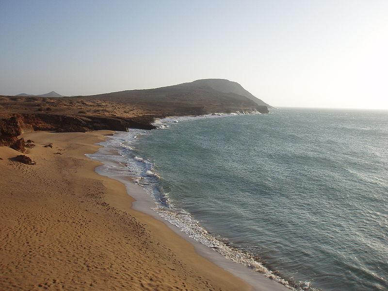 Playas de Cabo de La Vela Playas del mundo
