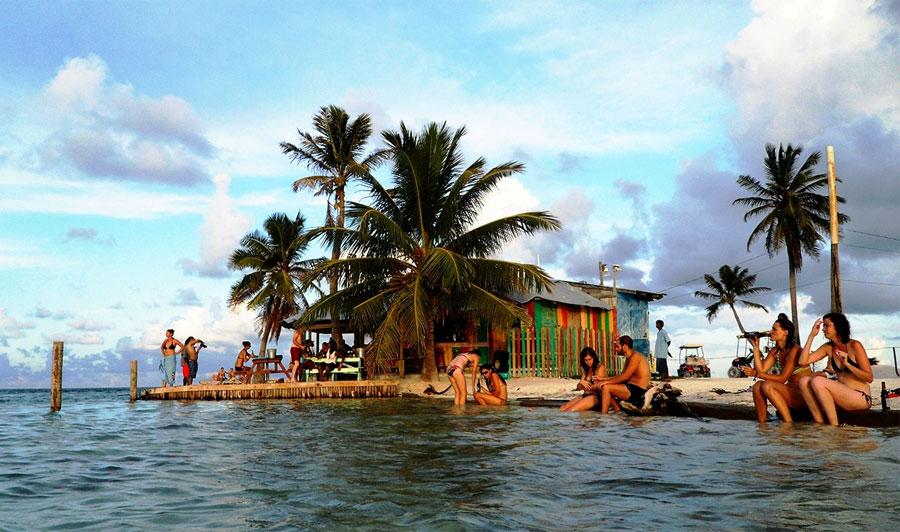 Playas de Cayo Caulker Playas del mundo