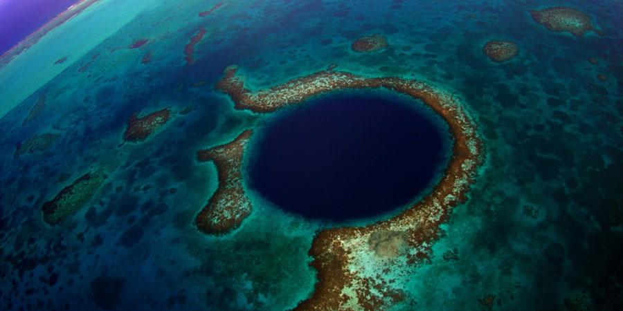 Playas de Blue Hole Playas del mundo
