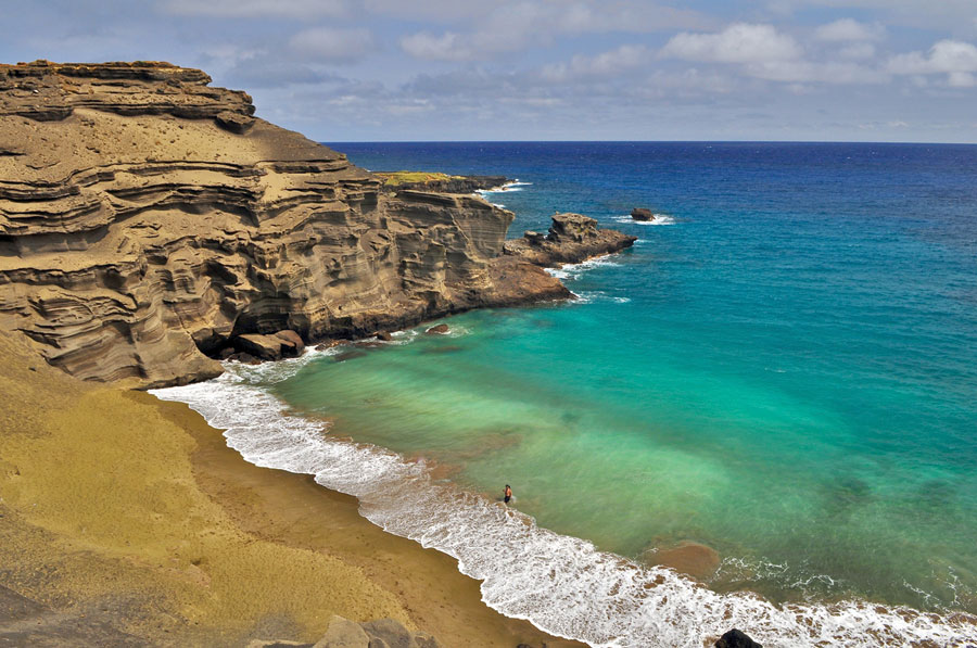 Papakolea la maravillosa playa verde de Hawaii Playas del mundo