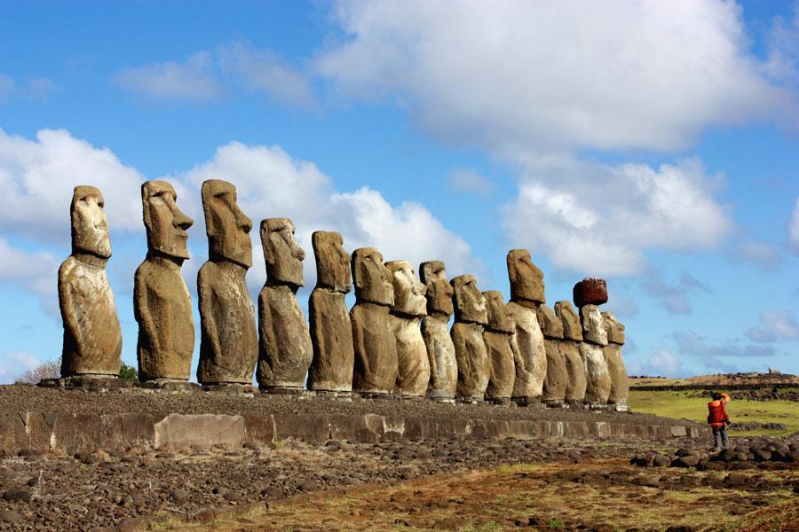 Rapa Nui, el ombligo del mundo Playas del mundo