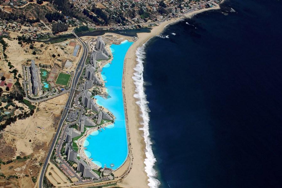 Chile: Conoce la piscina más grande del mundo Playas del mundo