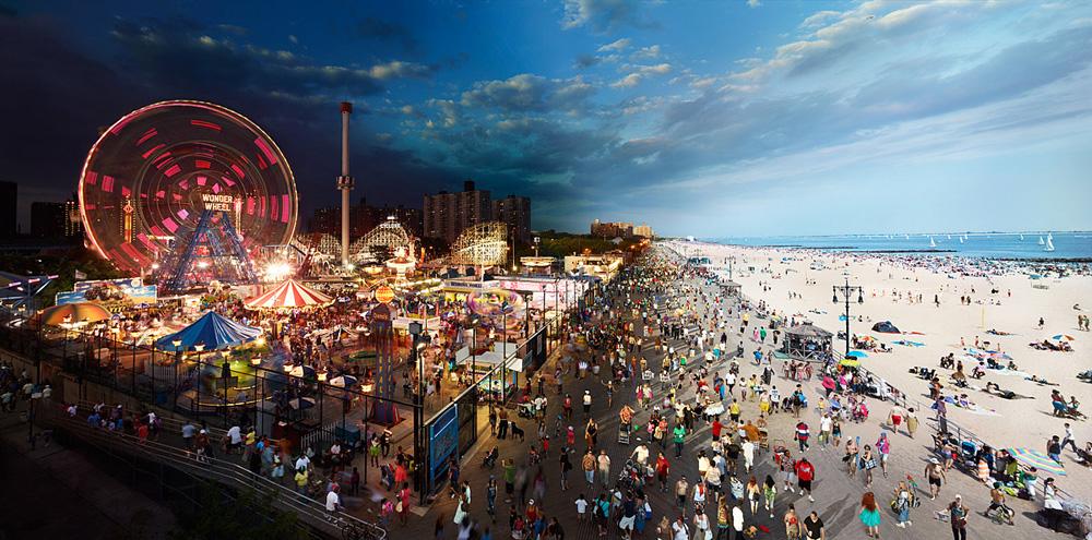 Coney Island, antiguo parque de atracciones de Nueva York Playas del mundo