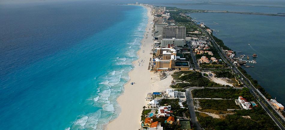 Cancún paraíso del Caribe Mexicano