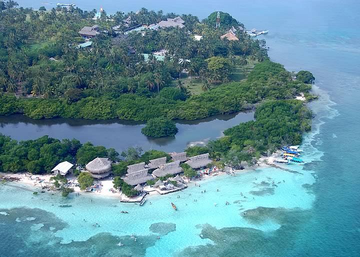 Playas de Islas de San Bernardo Playas del mundo