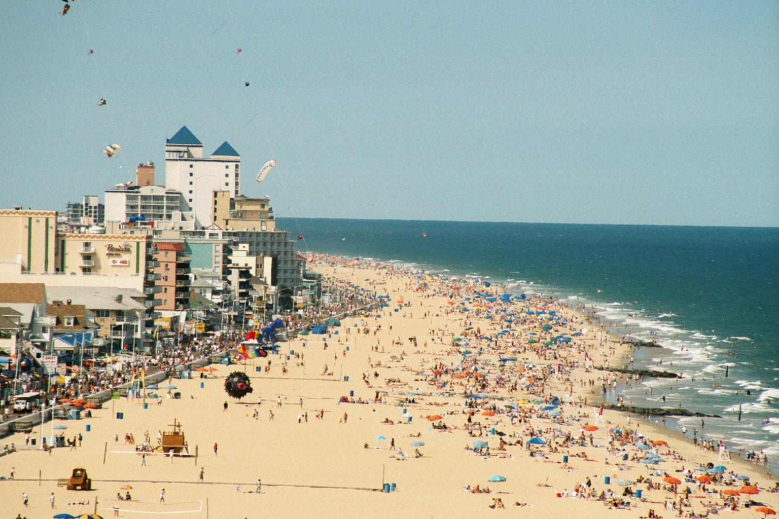 Ocean City, la playa más atractiva de Jersey Playas en el mundo