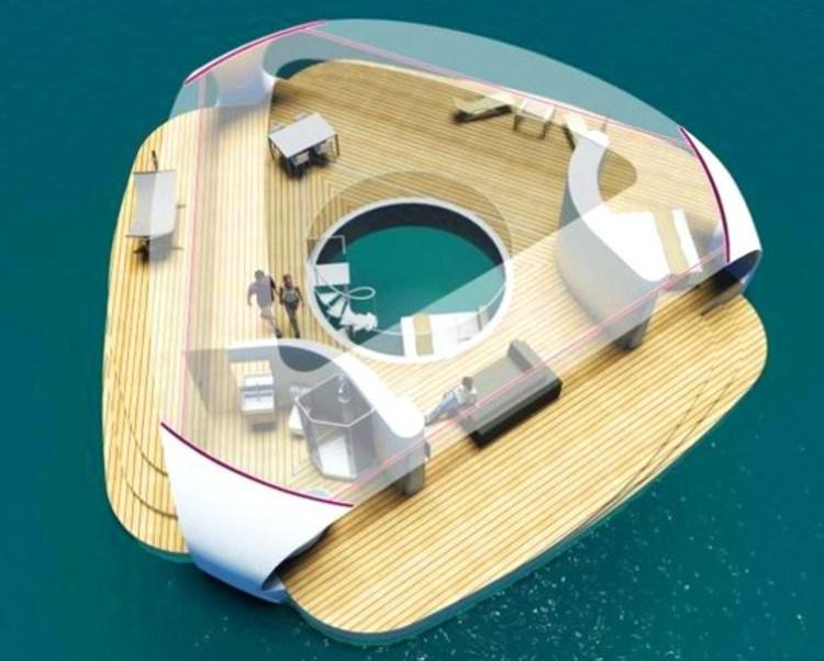 SeaScape, habitar una villa flotante Playas del mundo