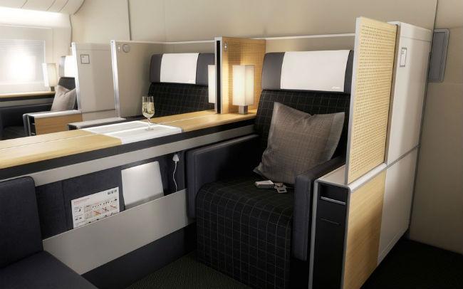 Suiza mejora los asientos de las aeronaves Playas del mundo