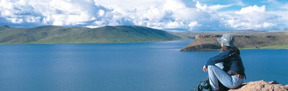 Perú : La Laguna Umayo, Hermoso turismo vivencial en Puno Playas del mundo