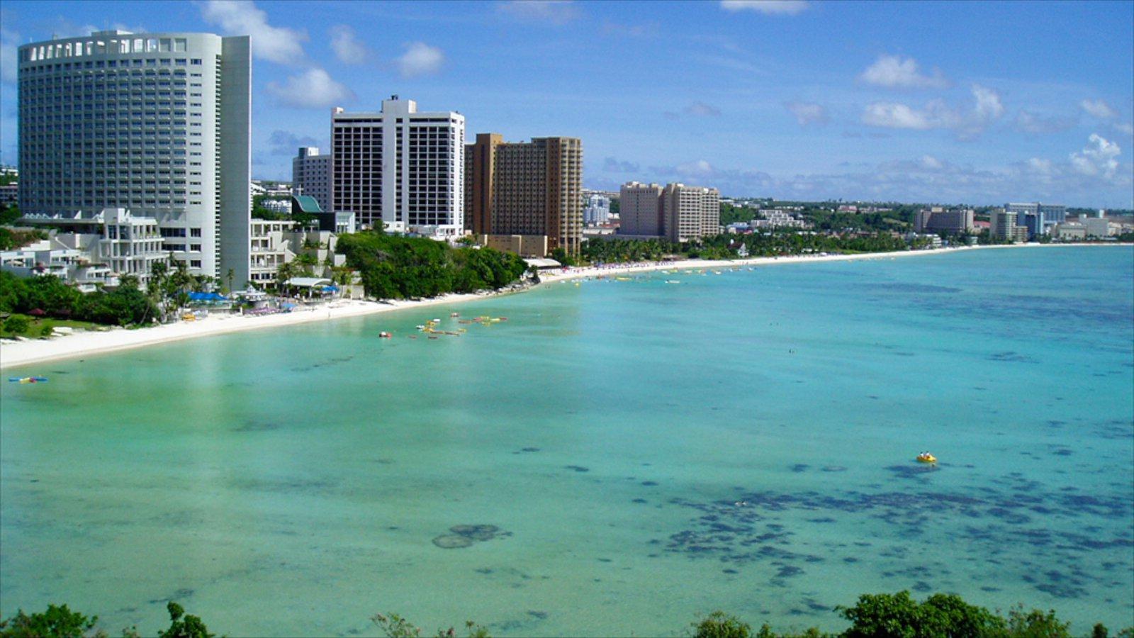 Tumon Beach Tumon, Mariana Islands Las mejores playas del Mundo
