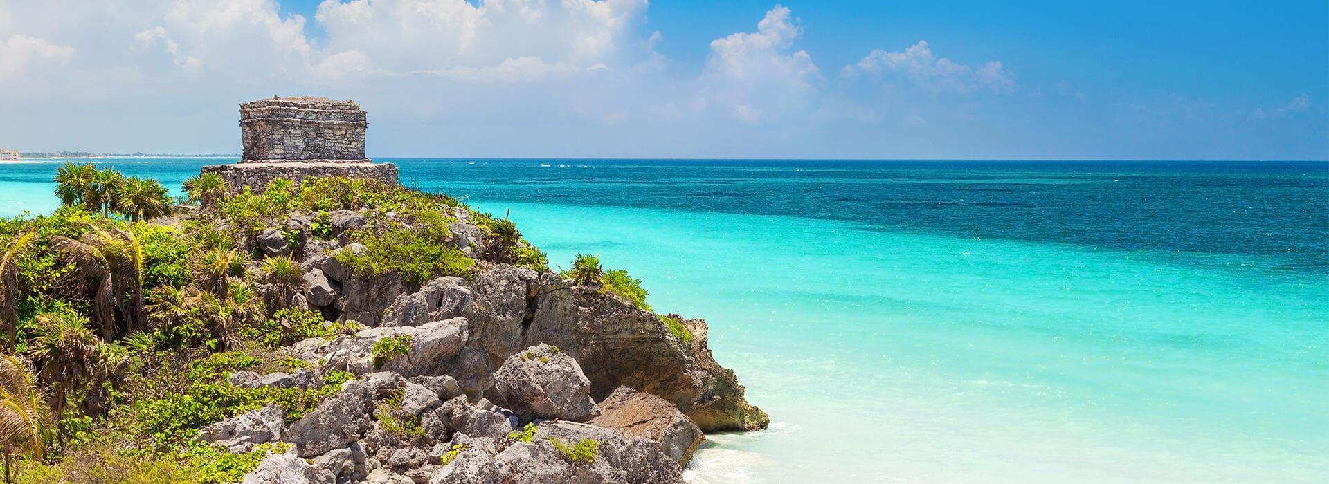 Disfruta de los atractivos del Caribe Mexicano
