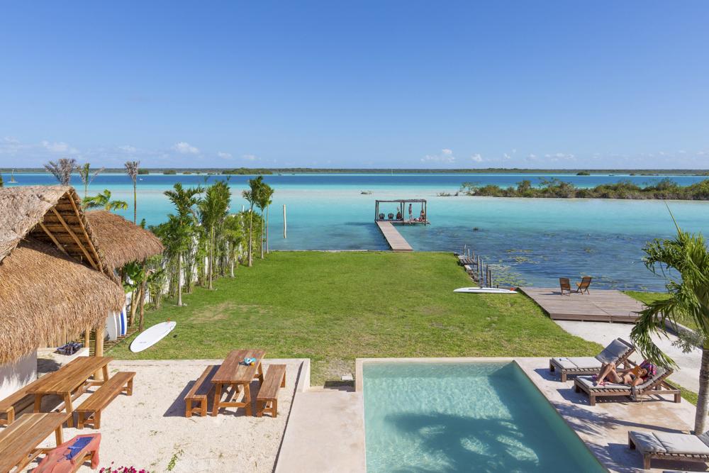 Casa Bakal y vacaciones en Bacalar, Quintana Roo Playas del mundo
